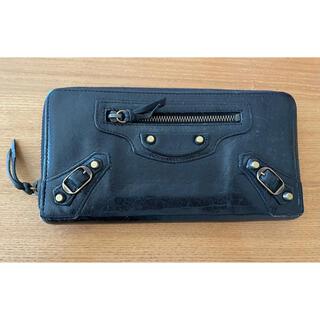 バレンシアガ(Balenciaga)のバレンシアガ BALENCIAGA 長財布 ブラック(財布)