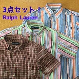 Ralph Lauren - Ralph Lauren ラルフローレン 柄シャツ3点セット 130センチ