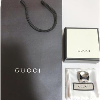 グッチ(Gucci)のGUCCI クリスタルリング 925 16号 新品(リング(指輪))
