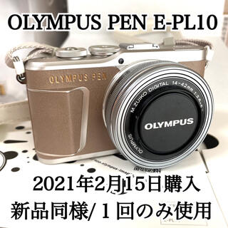 OLYMPUS - 【新品同様】OLYMPUS PEN E-PL10 ブラウン