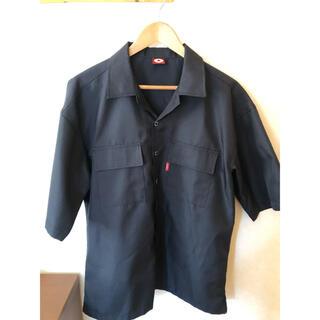 コンバース(CONVERSE)のコンバースオールスターズ ワークシャツ 美品 ビックロゴ(シャツ)