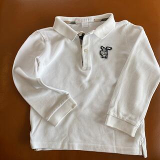 バーバリー(BURBERRY)のバーバリー  ポロシャツ 2T 92センチ(ブラウス)