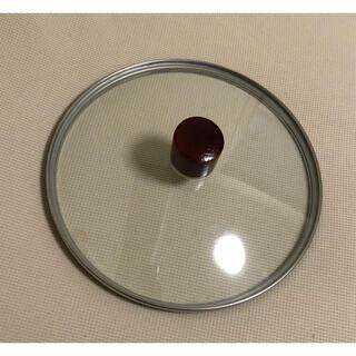 鍋蓋 フライパン蓋 ガラス蓋 丸 円(鍋/フライパン)