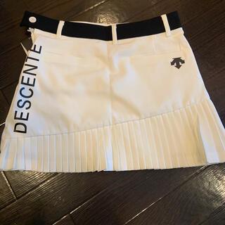 DESCENTE - デサント プリーツ スカートS