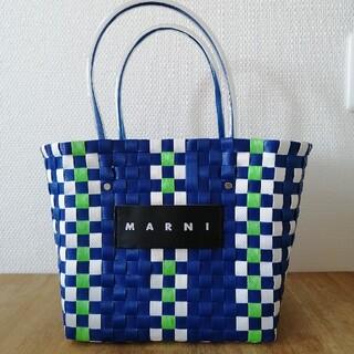 マルニ(Marni)のMARNI ピクニックバッグ かごバッグ(かごバッグ/ストローバッグ)