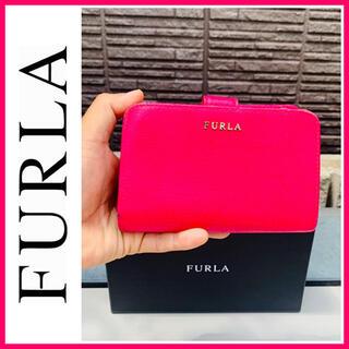 Furla - イタリア製■大丸購入■ピンク■レザー■フルラ FURLA 財布 L字ファスナー