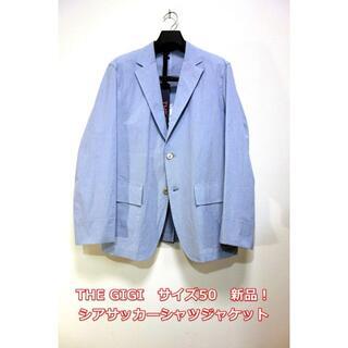 ボリオリ(BOGLIOLI)の【新品】ザジジ コードレーンシャツジャケット BLEND THE GIGI(テーラードジャケット)
