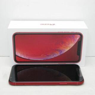 アイフォーン(iPhone)の【S】SIMフリー iPhoneXR 64GB (PRODUCT)RED(スマートフォン本体)