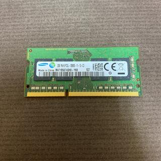 サムスン(SAMSUNG)のノートパソコン用 メモリ 2GB  ②(ノートPC)