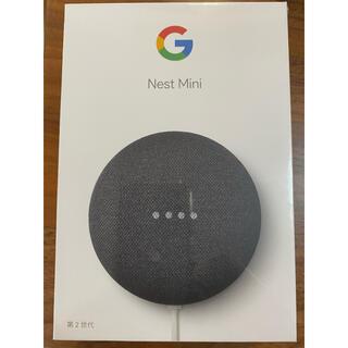 グーグル(Google)のGoogle GOOGLE NEST MINI CHARCOAL (スピーカー)