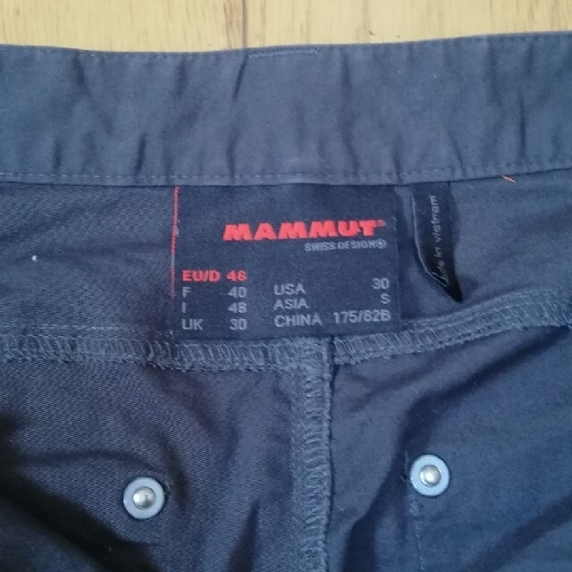 Mammut(マムート)のマムートショートパンツメンズ メンズのパンツ(ショートパンツ)の商品写真