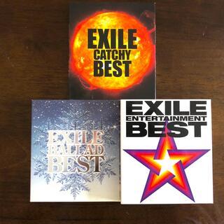エグザイル(EXILE)のEXILE ベストアルバム 3セット(ミュージック)