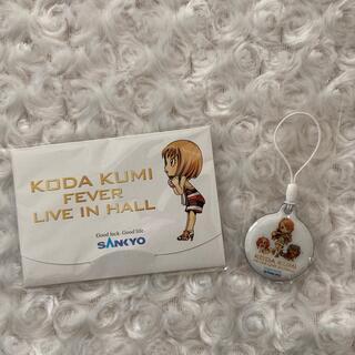 サンキョー(SANKYO)のKODA KUMI FEVER あぶらとり紙 ストラップ 倖田來未(パチンコ/パチスロ)