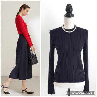 FOXEY - 美品 2020年 フォクシー FOXEY レーヨン ニット トップス