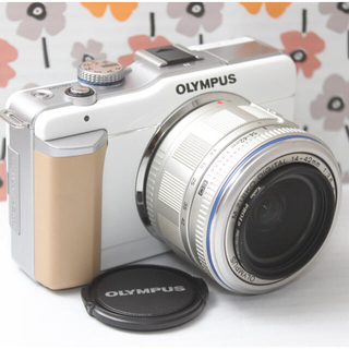オリンパス(OLYMPUS)の❤️Wi-Fi❤️オリンパス PL1 ミラーレスカメラ(ミラーレス一眼)