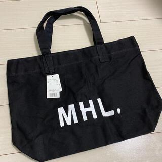 トートバッグ MHL. ヘビーキャンバストートバッグ