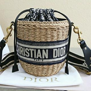 Christian Dior - 最安値☆するクリスチャンディオールカゴバッグ