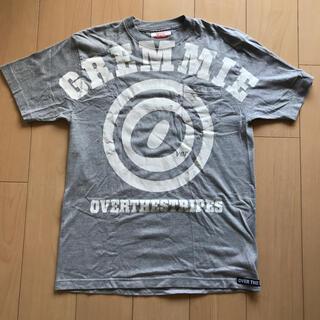 オーバーザストライプス(OVER THE STRIPES)の★レア・旧タグ★OVER THE STRiPES ロゴ Tシャツ Lサイズ(Tシャツ/カットソー(半袖/袖なし))