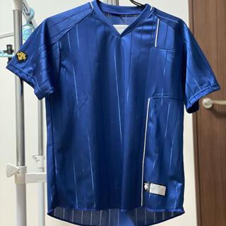 デサント(DESCENTE)のデサント ベースボールTシャツ 半袖Vネック 160 ロイヤルブルー(ウェア)