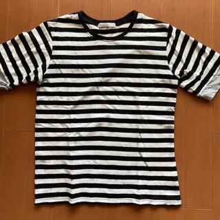 イッカ(ikka)のikka  ボーダーカットソー サイズ150(Tシャツ/カットソー)