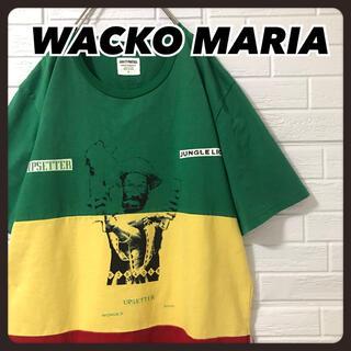 WACKO MARIA - ☆即完売品☆ 美品 ワコマリア Tシャツ ラスタカラー リー・ペリー レゲエ