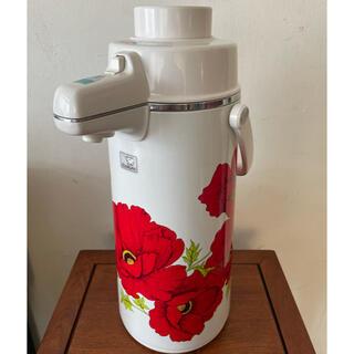 ゾウジルシ(象印)の象印 エアーポット SDR-2200 2.23ℓ レッドポピー(調理道具/製菓道具)