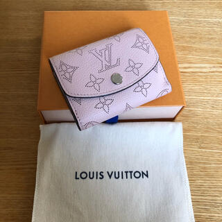 LOUIS VUITTON - 極美品 正規品 マヒナ ポルトフォイユ イリス XS ピンク レディース