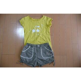 ボンポワン(Bonpoint)のボンポワンTシャツとhushushパンツセット 110センチ(その他)