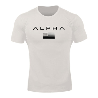 alpha clothing tシャツ オフホワイト(Tシャツ/カットソー(半袖/袖なし))