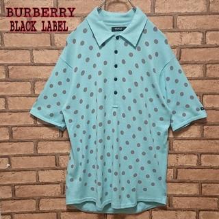 バーバリーブラックレーベル(BURBERRY BLACK LABEL)のBURBERRY BLACK LABEL メンズ ドット 柄 ポロシャツ(ポロシャツ)