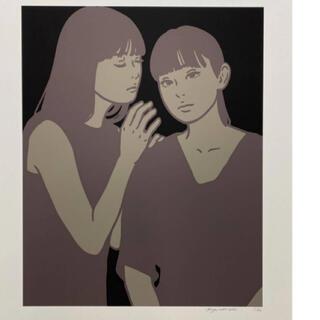 KYNE シルクスクリーン Untitled:L版画(版画)