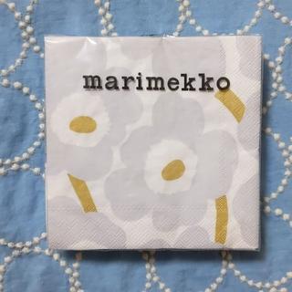 marimekko - marimekko ペーパーナプキン 『ウニッコ』アイシーグレー
