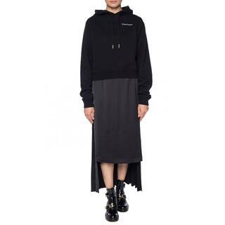 マルタンマルジェラ(Maison Martin Margiela)のMAISON MARGIELA アシメントリープリーツスカート(ロングスカート)