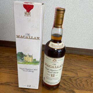マッカラン12年 ジオベネッティ 旧ボトル 700ml 43%(ウイスキー)