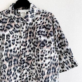 セリーヌ(celine)のクロエ シャツ 半袖 レオパード(シャツ/ブラウス(半袖/袖なし))