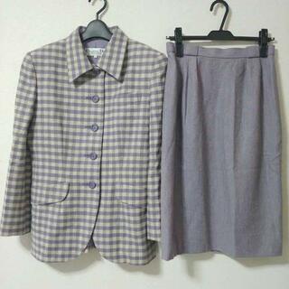 クリスチャンディオール(Christian Dior)のクリスチャンディオール スーツ セットアップ ジャケット スカート チェック(スーツ)