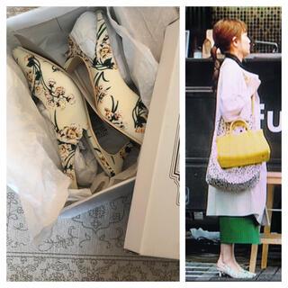 神戸レタス - 新品 着飾る恋には理由があって 川口春奈 着用 神戸レタス 花柄パンプス