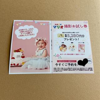 キタムラ(Kitamura)のスタジオマリオ 撮影お試し券 クーポン カメラのキタムラ(アルバム)