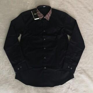 FENDI - ・✽゚ロゴ 立ち襟 フェンディ シャツ
