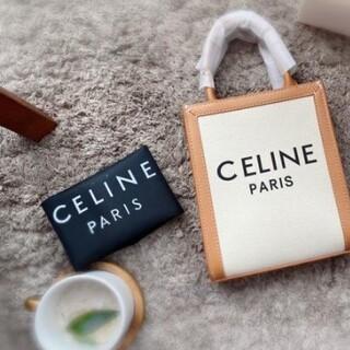 セリーヌ(celine)の極美品CELINE バーティカルカバ トリオンフ キャンバス(チャーム)