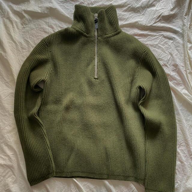 ACNE(アクネ)のAcne Studios ハーフジップニット メンズのトップス(ニット/セーター)の商品写真