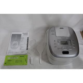パナソニック(Panasonic)の★ほぼ新品★ パナソニック 炊飯器 5.5合 圧力IH式 SR-PB109-W(炊飯器)