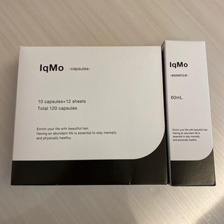 ミズハシホジュドウセイヤク(水橋保寿堂製薬)のIqMo-essence-&-capsules- セット販売(スカルプケア)
