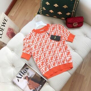 FENDI - オレンジ ◉フェンディ◉ セーター