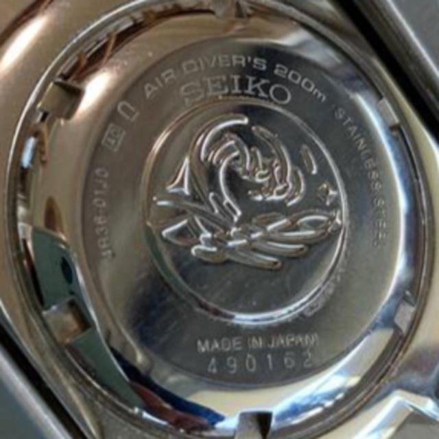 SEIKO(セイコー)のセイコー ブラックモンスター シャークトゥース 日本製  メンズの時計(腕時計(アナログ))の商品写真