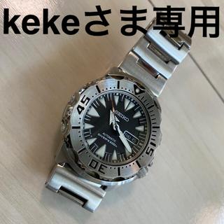 SEIKO - セイコー ブラックモンスター シャークトゥース 日本製