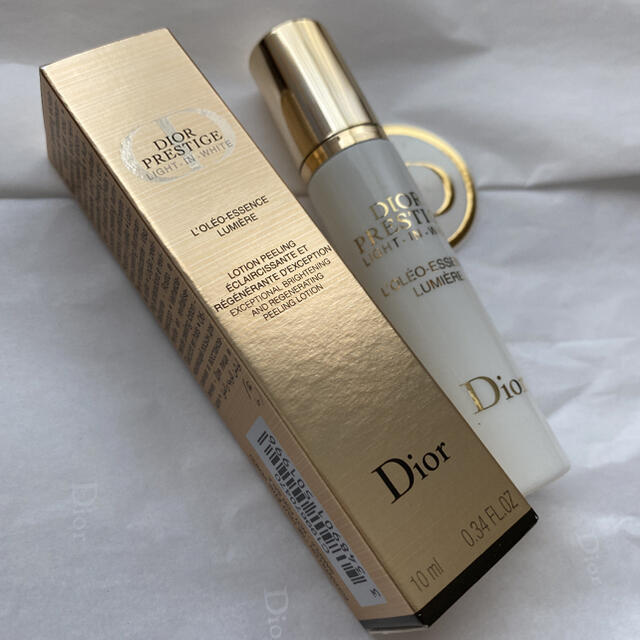 Christian Dior(クリスチャンディオール)のディオール プレステージ ホワイト オレオ エッセンス ローション サンプル コスメ/美容のスキンケア/基礎化粧品(化粧水/ローション)の商品写真