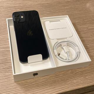 iPhone - iPhone12 mini 64GB ブラック au SIMロック解除済 新品