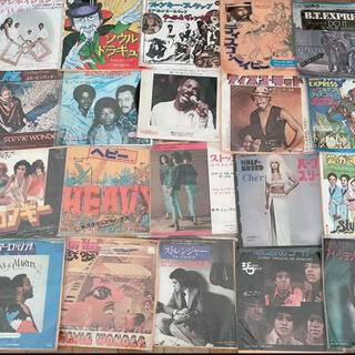 70s-80sのソウルディスコミュージック7インチレコード