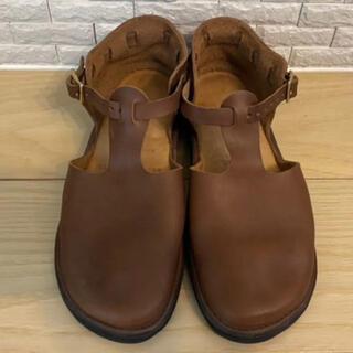 アウロラ(AURORA)の新品❇️オーロラシューズ ウエストインディアン ブラウン 23.5cm(ローファー/革靴)